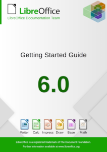 Cover of Getting Started with LibreOffice 6.0