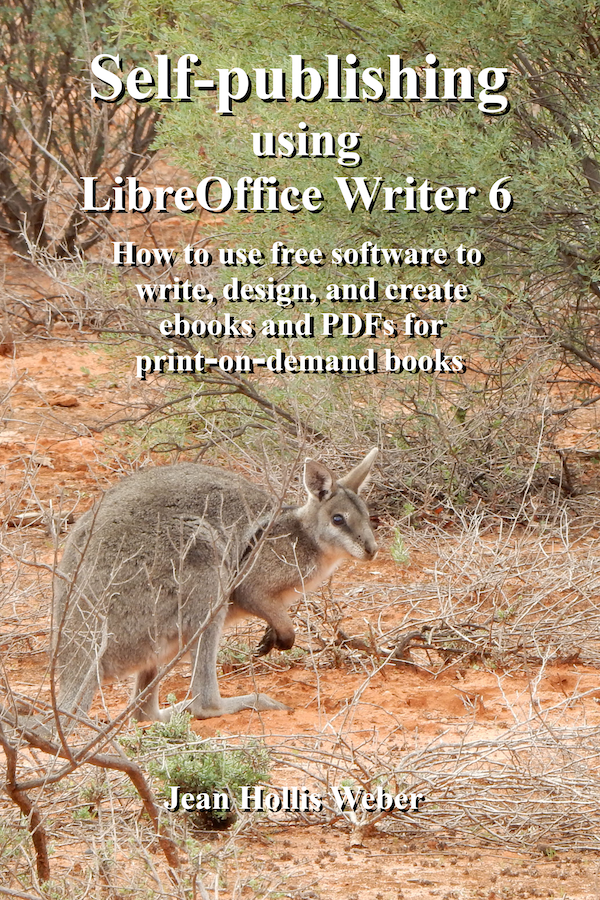 Self-Publishing using LibreOffice Writer 6