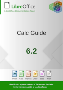 LibreOffice 6.2 Calc Guide front cover